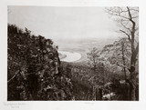 Chattanooga Valley from Lookout Mountain, Tennesee, USA, c 1866.