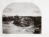 Interior view of Fort Sumter, South Carolina, USA, 1866.