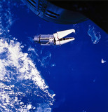 The 'Angry Alligator' in Earth orbit, 1966.