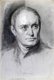 Charles Babbage, mathematician and computing pioneer, c 1840.