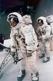 Apollo 12 astronauts in training, 1969.