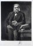 Thomas Henry Huxley, British biologist, 1883.