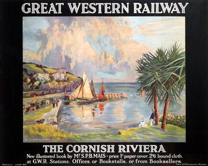 'The Cornish Riviera', GWR poster, 1923-1942.