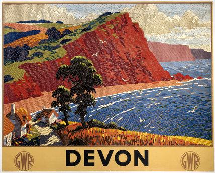 'Devon', GWR poster, 1936.