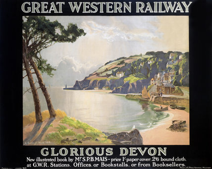 'Glorious Devon', GWR poster, 1923-1947.
