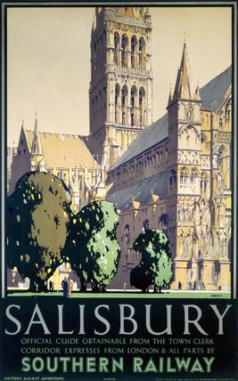'Salisbury', SR poster, 1932.