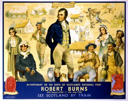 'Robert Burns', BR (ScR) poster, 1959.