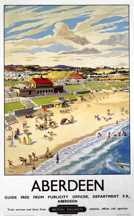 'Aberdeen', BR (ScR) poster, 1948-1965.