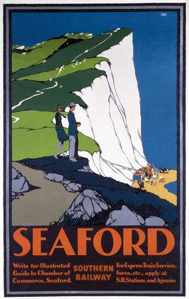 'Seaford', SR poster, 1930.