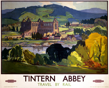 'Tintern Abbey', BR poster, 1948-1965.