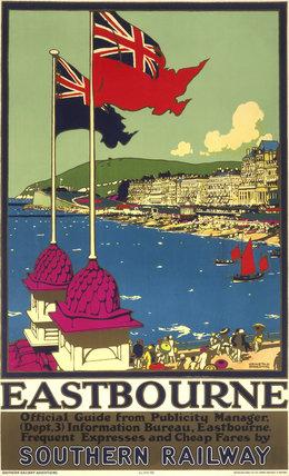 'Eastbourne', SR poster, 1938.