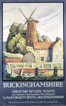'Buckinghamshire', LNER poster, 1932.