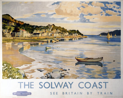 'The Solway Coast - Kippford', BR (ScR) poster, 1948-1965.