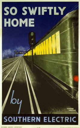 'So Swiftly Home', SR poster, 1932.