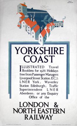 'Yorkshire Coast', LNER poster, 1925.