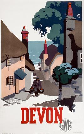 'Devon', GWR poster, 1939.