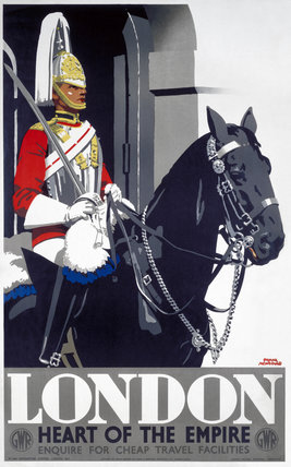 'London - Heart of the Empire', GWR poster, 1939.