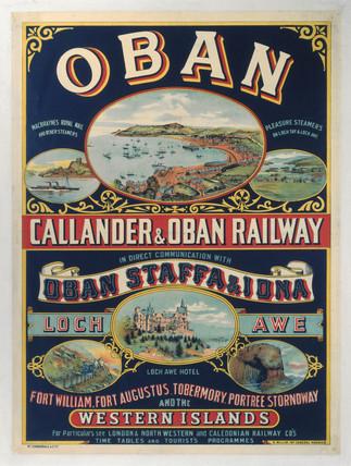 'Oban - Callander & Oban Railway', LNER poster, 1923-1947.