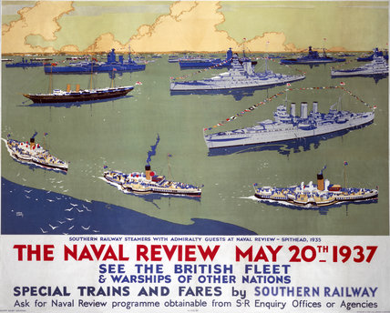 'The Naval Review, May 20th 1937'.