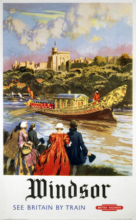 'Windsor', BR (WR) poster, 1958.