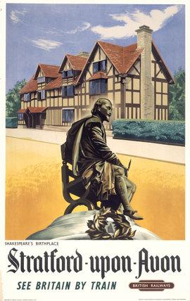 'Stratford-upon-Avon', BR poster, 1948-1965.