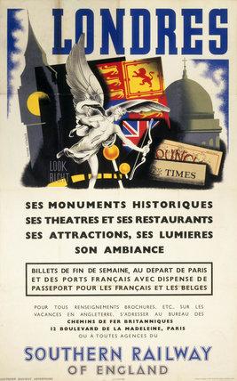 Londres, SR Poster, 1936.