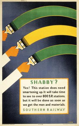 'Shabby ?', SR poster, 1945.