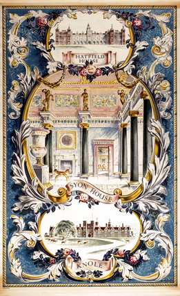 Syon House, LT poster, 1954. Poster produce