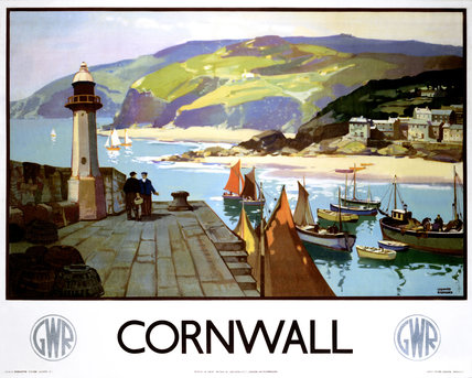 'Cornwall', GWR poster, 1937.
