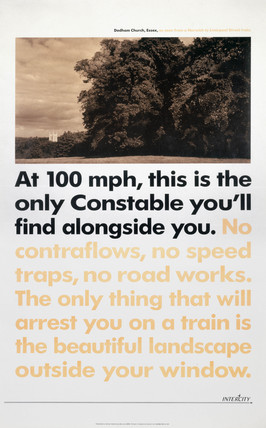 British Rail poster, 1990