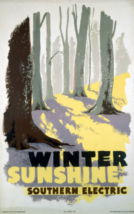 'Winter Sunshine', SR poster, 1935.