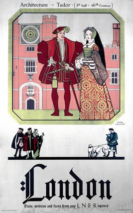 'London', LNER poster, 1923-1947.