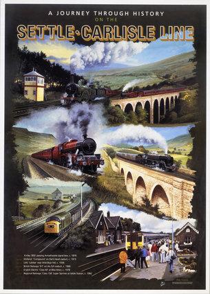 'Settle-Carlisle Line', Regional Railways poster, 1992.