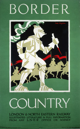 'Border Country', LNER poster, 1923-1947.