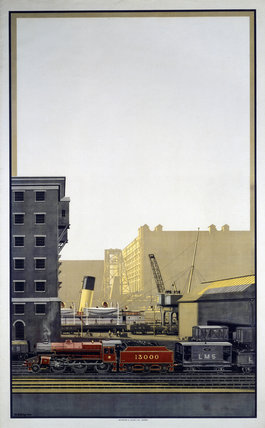 Untitled LMS poster, c 1930s.