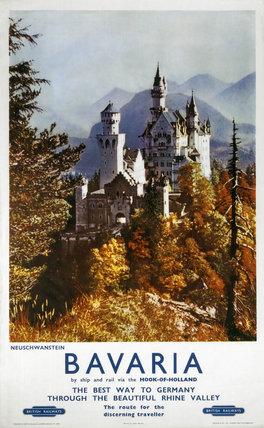 'Bavaria', BR poster, c 1960s.