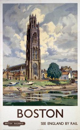 'Boston', BR poster, 1948-1965.