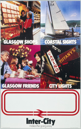 'Inter-City. Glasgow Shops, Coastal Sights,