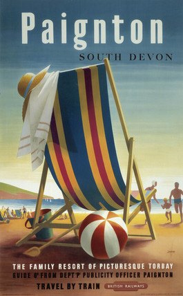 'Paignton', BR poster, 1948-1965.