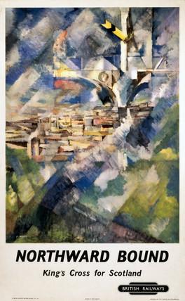 'Northward Bound', BR(ER) poster, c 1950s.