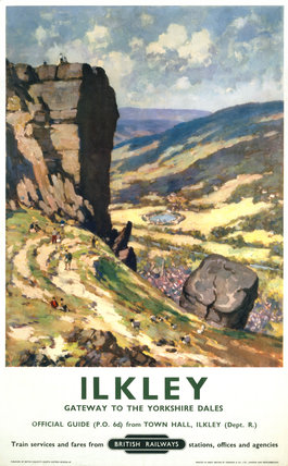 'Ilkley', BR poster, 1960.