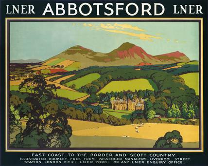 'Abbotsford', LNER poster, 1930.