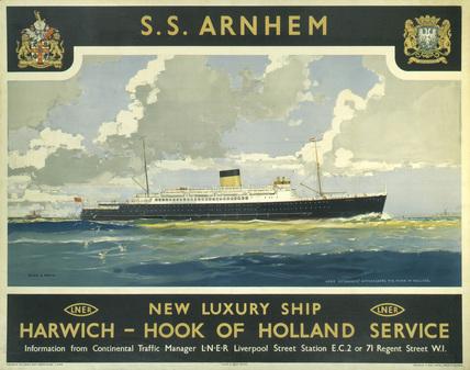 's Arnhem', LNER poster, 1935.