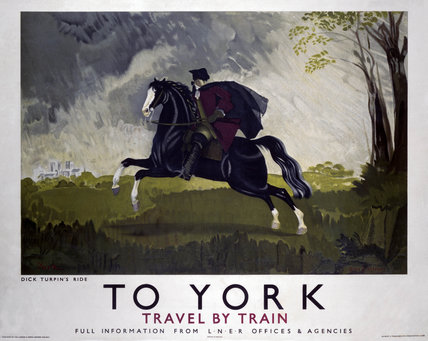 'To York', LNER poster, 1934.