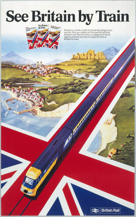'See Britain by Train', BR poster, 1980. Po