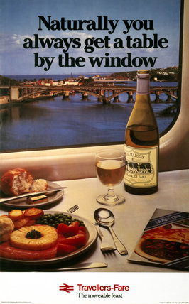 'Travellers Fare', BR poster, 1980.