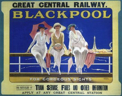 'Blackpool', GCR poster, 1910.