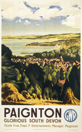 'Paignton - Glorious South Devon', GWR post