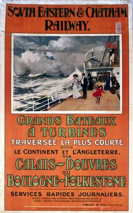 'Grandes Bateaux a Turbines', 1907.