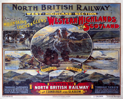 'Western Highlands of Scotland', NBR poster, c 1920.
